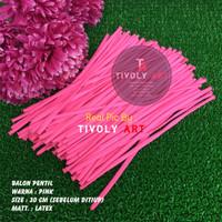 Balon Latex Pentil / Balon Pentil Pink / Balon Twist / Balon Cacing