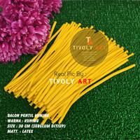 Balon Latex Pentil / Balon Pentil Kuning / Balon Twist / Balon Cacing