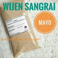 Wijen Sangrai Mayo KEWPIE | Roasted Sesame Mayonnaise | Mayonaise Saus