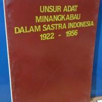 unsur adat minang kabau dalam sastra indonesia