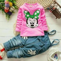 Jumpsuit / Jeans Anak / Set Anak Jump Miki Kid Limited