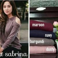 Baju Rajut Wanita Korea Murah (Aulia Sabrina) Grosir