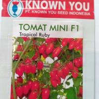 Benih / bibit tomat Mini F1 ( Tropical Ruby )