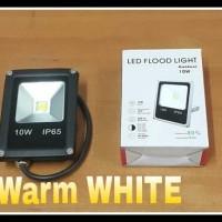Lampu Sorot Led 10 Watt (Warm White) Hemat Energi