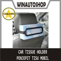 Car Tissue Holder Penjepit Tisu Mobil Tempat Tissue Kotak Tisu