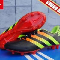 adidas predator biru orange(sepatu bola anak,soccer,sport,olahraga)