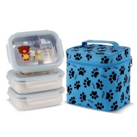 GiG Baby Rectangular Lunch Box 3 Susun