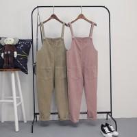 BAJU KODOK JUMPSUIT DRESS FASHION WANITA KOREA KEMEJA BLAZER 2015103