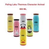 Botol Minum Termos Karakter Animal Stainless Steel 500 ml