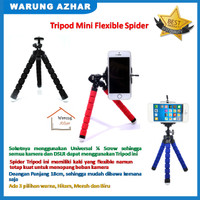 Tripod Mini Murah dan unik / Spider Flexible Tripod