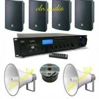 paket sound PA system (ampli VPK + TOA)