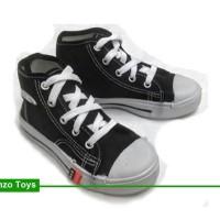 Sepatu Sekolah Anak/Pria/WanitaNB Tali Boot Hitam Putih Converse High