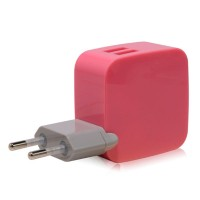 Monocozzi Dual USB International Wall Charger 4.2 amp Smighty | YELLOW