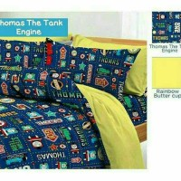SPREI KATUN STAR THOMAS ENGINE BED UK140/120/100/90