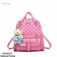 tas fashion wanita murah backpack korea grosir tas ransel