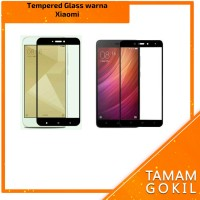 Tempered Glass Warna 2,5D Xiaomi Redmi 4x
