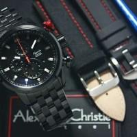 Jam Tangan Pria Alexandre Christie AC6163 Black Original