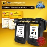 Catridge Canon 810 black & 811 Color iP2770 MP258 MP287 MP497 Recycle