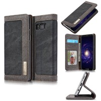 Case Samsung Galaxy S10 E Flip Canvas Denim with slot card hard case