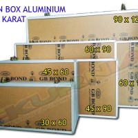 Neon Box 45x90 Aluminium