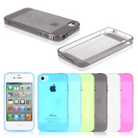 iPhone 4/4s/5/5s/6+/6 Plus Ultra Thin Silicone Case / Casing
