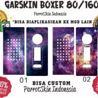 Garskin mod vape HUGO BOXER v2 188w galaxy edition BEBAS CUSTOM