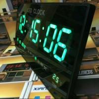 Jam Dinding Digital LED XY-4622 / Jam Digital LED ( HIJAU ) MURAH