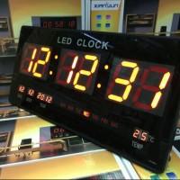 Jam Dinding Digital LED XY- 4622 / Jam Digital LED ( MERAH ) MURAH..!!