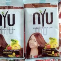 NYU Pewarna Rambut Creme Hair Colour Kemasan Baru