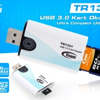 Card Reader Team TR1321 SD Card,& Micro SD  Reader USB 3.0