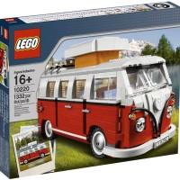 LEGO Exclusive # 10220 Vehicles Volkswagen T1 Camper Van Iconic VW Set