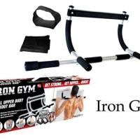 Iron Gym Alat Fitnes Pull Up Alat Olahraga Angkat Badan Murah