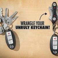 Modern Key Organizer Key Ring As seen on tv Key Ninja Murah