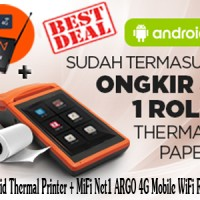 Android Thermal Printer & FiFi Net1 LOG U-270 4G Fixed WiFi Router