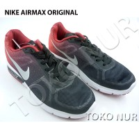Sepatu Nike AirMax ORIGINAL - MerahHitam