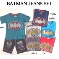 Setelan Anak Batman Jeans