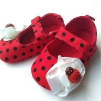 Lady Bug Prewalker Shoes
