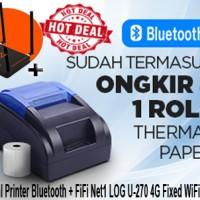 Thermal Printer Bluetooth & FiFi Net1 LOG U-270 4G Fixed WiFi Router