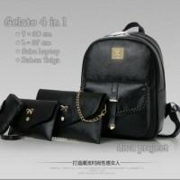 tas fashion wanita murah backpack gelato 4in1 grosir turun harga