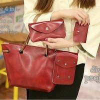 tas fashion wanita murah slingbag gigle 4in1 grosir tas selempang