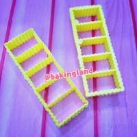 cetakan semprit kue kering gerigi ( cookies stick)