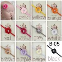 bando flower untuk bayi dan anak perempuan