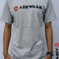 tshirt / t shirt / oblong/ kaos Airwalk , abu