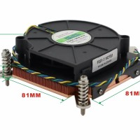 1U Fan Server CPU Cooler P301-1 HCFB1 LGA 1366/2011/115X Kipas 1U