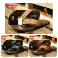 SANDAL PRIA CASUAL KICKERS REMEL CONCEPT GENUINE LEATHER