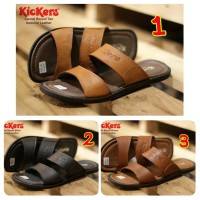 SANDAL PRIA CASUAL KICKERS ROUND CONCEPT GENUINE LEATHER