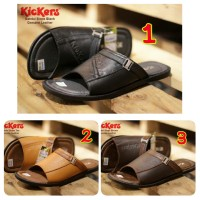 SANDAL PRIA CASUAL KICKERS SLOPE CONCEPT GENUINE LEATHER