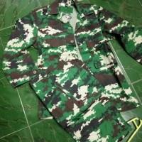 pakaian loreng NKRI asli pembagian TNI/baju pdl loreng NKRI jatah TNI