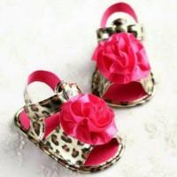Leopard Prewalker baby Shoes