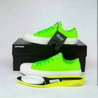 CONVERSE CTAS II OX GREEN GECKO with insole LUNARLON + Extra Shoelace
